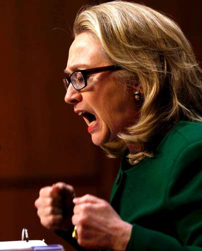 Hillary Clinton lying