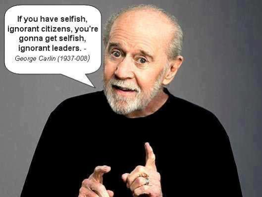 george Carlin quote for ages