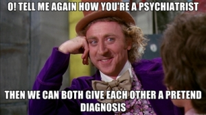 pretend psychiatrist