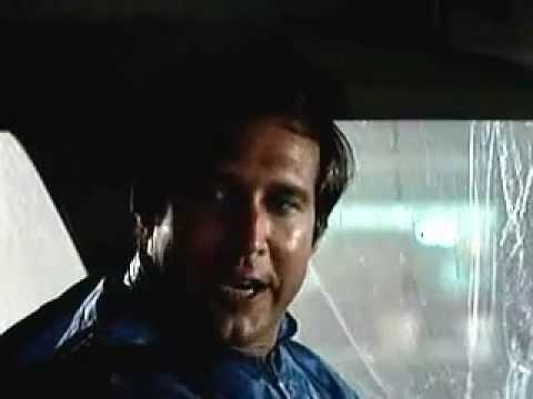 Clark in the car