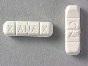 xanax tab