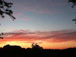 sunset July 2014