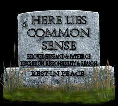 common sense headstone