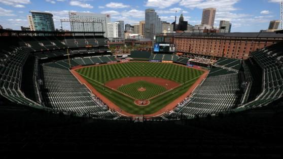 April 29th Oriole game in empty stadium