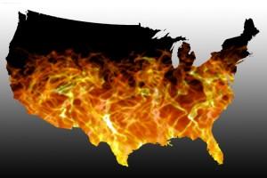 America burns