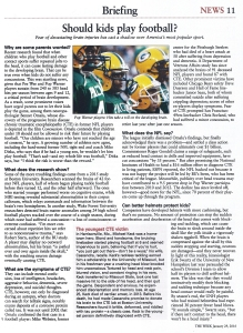 football article