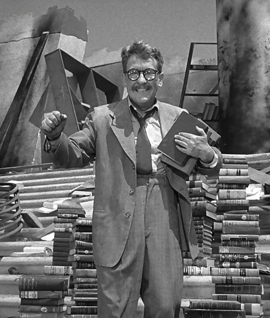 Image result for twilight zone episode of man who survived nuclear destruction and glasses broke